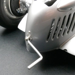 1:12 scale replication of the Auto Union Type C race car from 1937