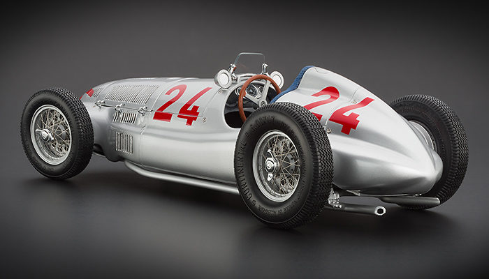 1939 Tiplolis GP Mercedes-Benz W165 #24 Model car