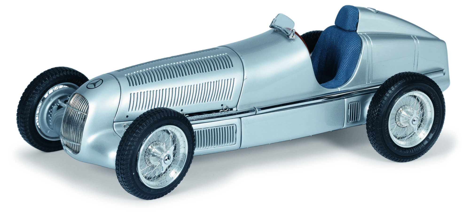 This is a 1934 Mercedes-Benz W25. This is the full model