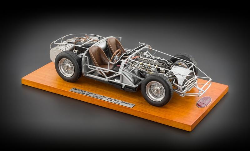 Maserati 300S Rolling Chassis