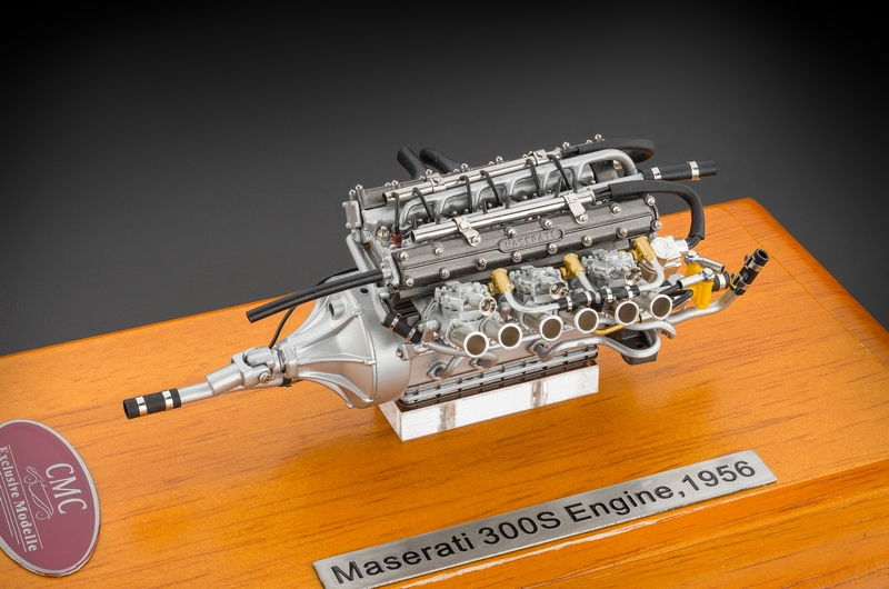 Cmc Maserati 300s 1956 Engine With Showcase Cmc Model Cars Usa