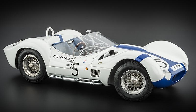 Maserati Tipo on black backround