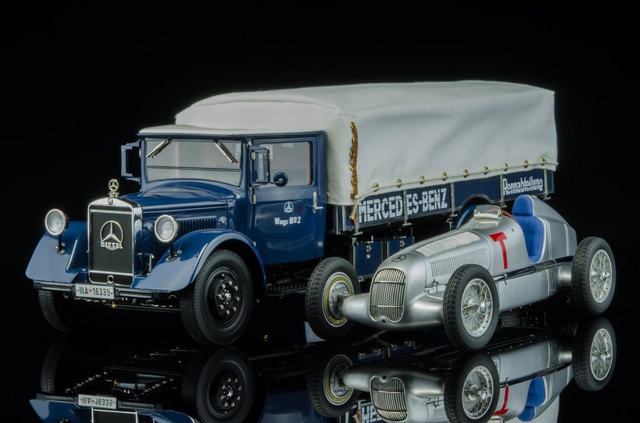 Cmc Mercedes Benz 1934 Racecar Transporter W25 T Car