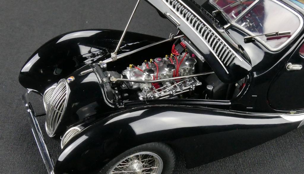 CMC Talbot T150C Teardrop, Black, Fiagoni & Falaschi Limited Edition