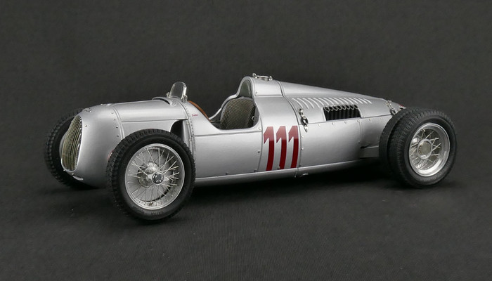 cmc auto union type c 1937 111 german hillclimb stuck cmc model cars usa. Black Bedroom Furniture Sets. Home Design Ideas