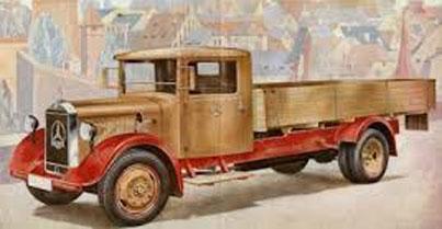 Mercedes-Benz LKW LO 2750 Platform Truck 1934-1938