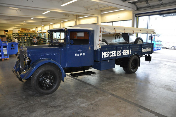 Mercedes - Benz Racing Car Transporter LO 2750 1934-38