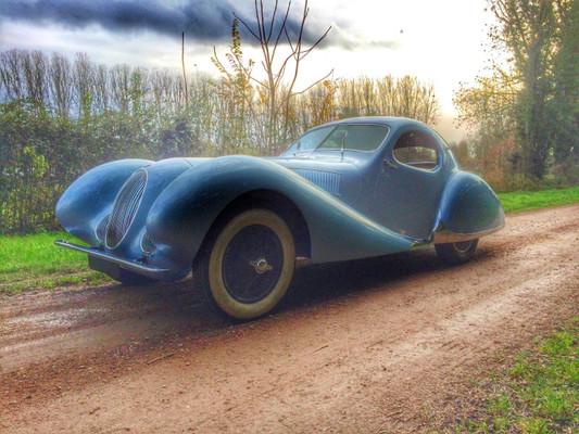Talbot-Lago Coupe T150 C-SS Figoni Falaschi 1937-1939 M-145