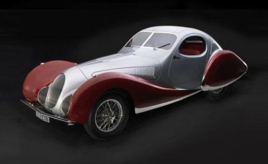 Talbot-Lago Coupe T150 C-SS Figoni Falaschi 1937-1939 M-165