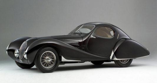 Talbot-Lago Coupe T150 C-SS Figoni Falaschi 1937-1939 M-166
