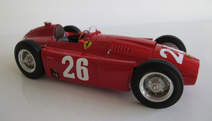 CMC Ferrari D50, 1956 GP France Collins/Fangio #26 Limited Edition 1000 Pcs